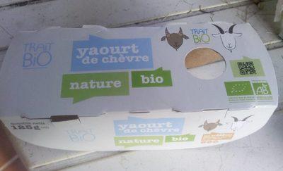 Yaourt de chèvre nature bio - Product - fr