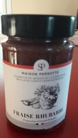 Confiture fraise rhubarbe - Product