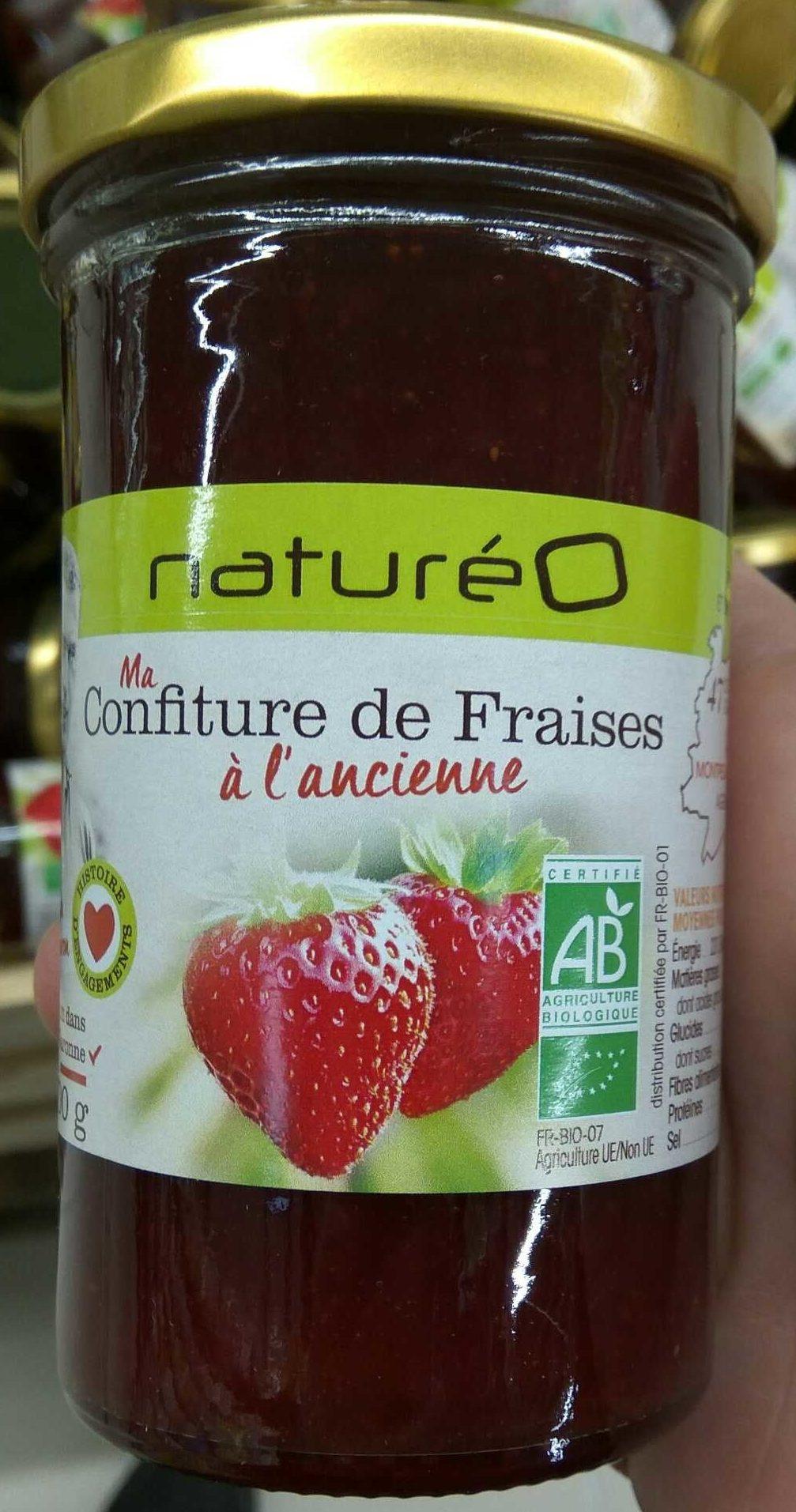 Ma confiture de fraises à l'ancienne - Produit - fr