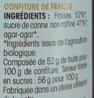 Ma confiture de fraises à l'ancienne - Ingrédients - fr