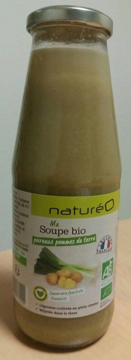 Ma Soupe bio poireaux pommes de terre - Product