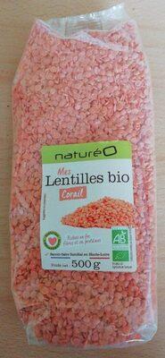 Mes lentilles bio corail - Product