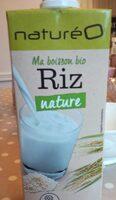 Ma boisson bio Riz nature - Produit