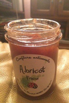 Confiture artisanale abricot fraise - Produit