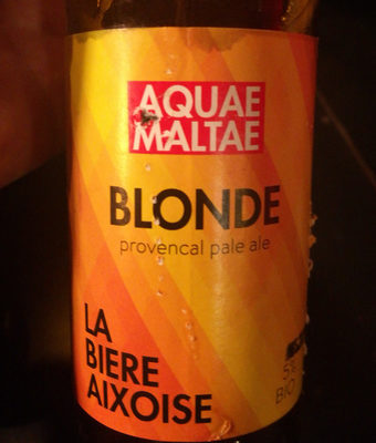 blonde, provencal pale ale - Product