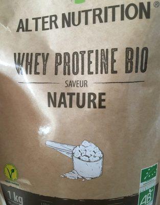 Whey proteine bio saveur nature - Product