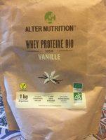 Whey protéine bio vanille - Product