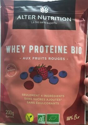 Whey Proteines Fruits Rouges - Product