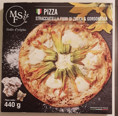 Pizza straciatella - Produit - fr