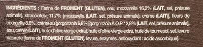 Pizza straciatella - Ingrédients - fr