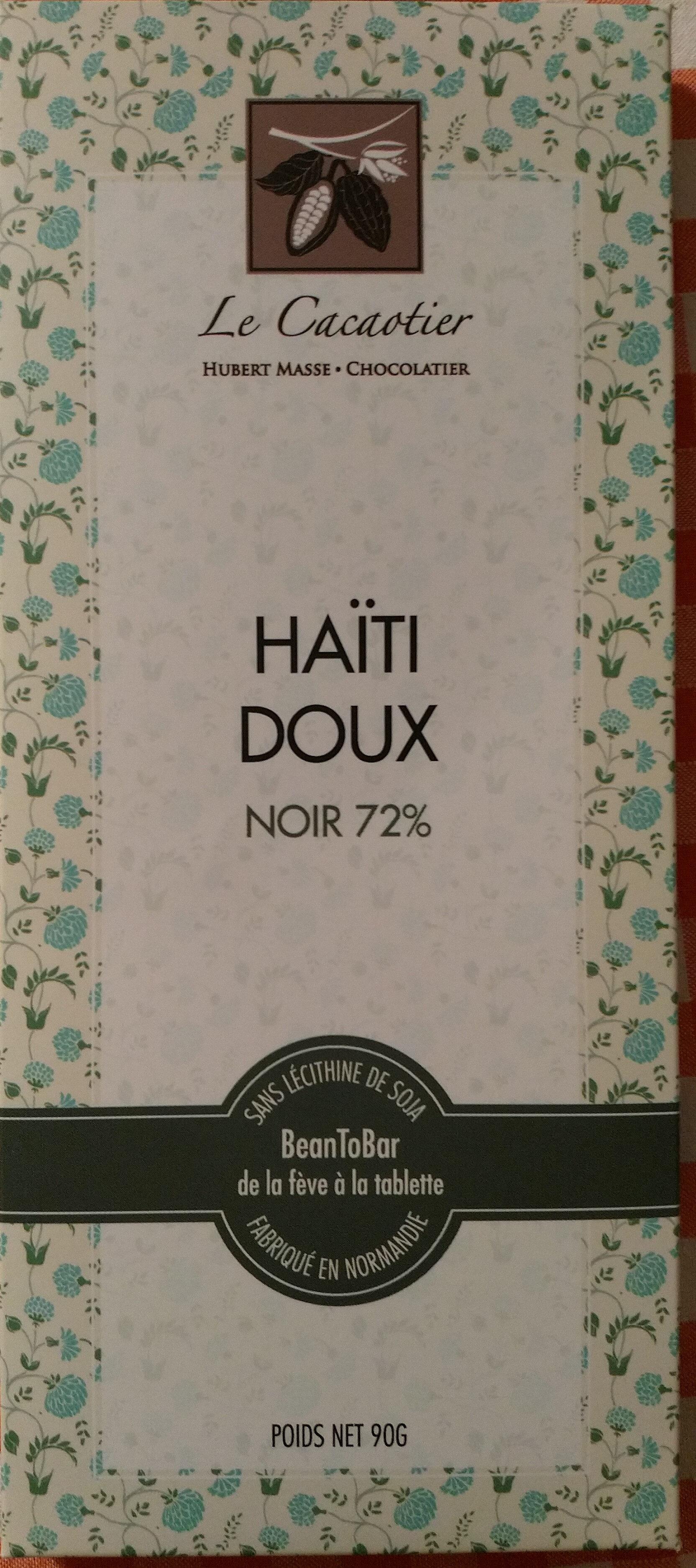 Chocolat Haïti Doux noir 72% - Product - fr