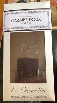 Caraibe doux Noir 66% - Product - fr