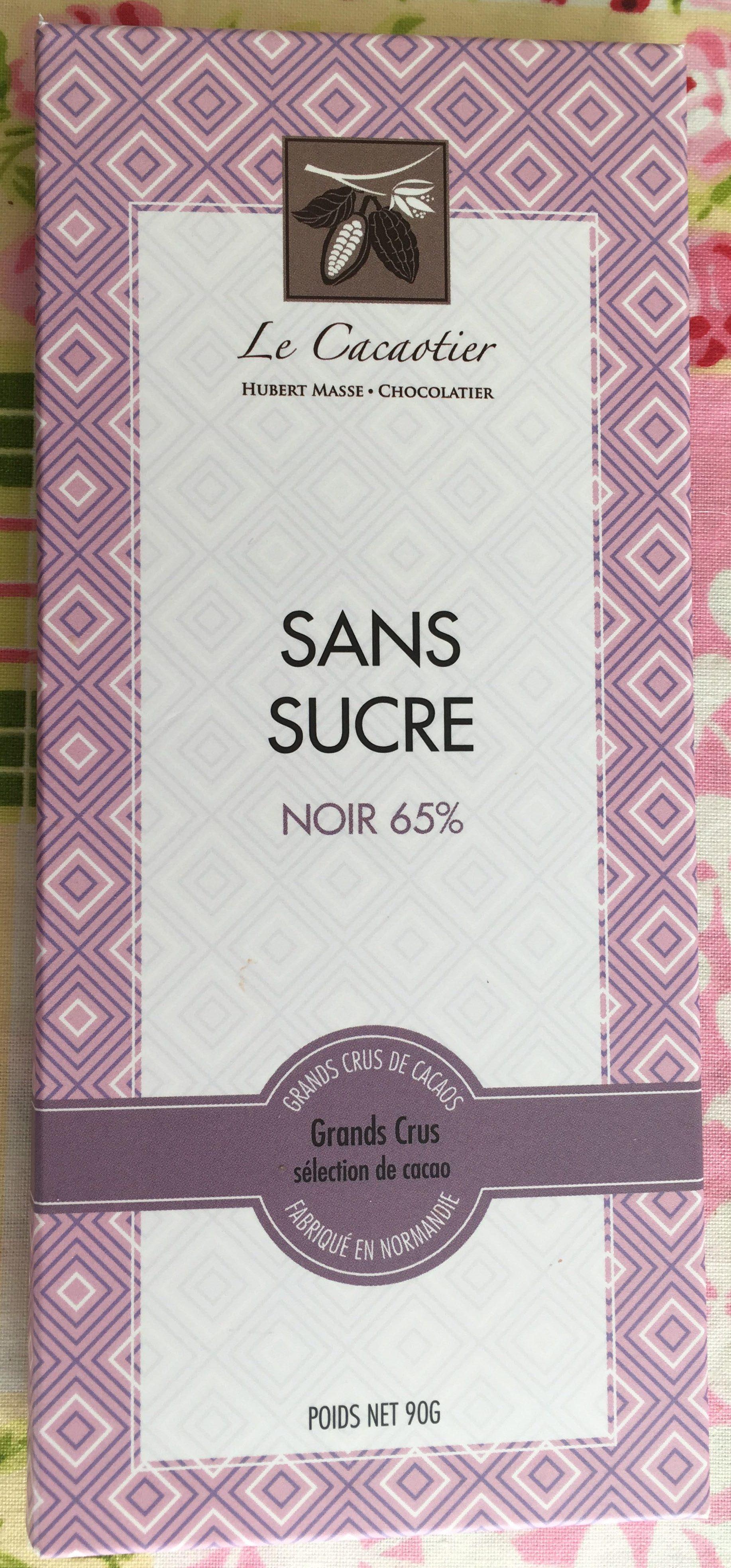 Chocolat sans sucre noor 65% - Product - fr