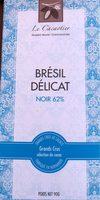 Chocolat Brésil délicat noir 62% - Product