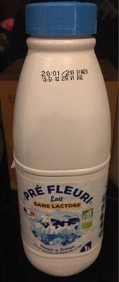 Lait sans lactose - Produit