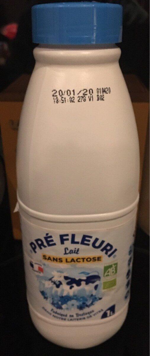 Lait sans lactose - Produit - fr