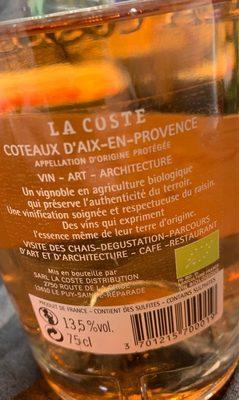 coteaux d'aix-en-provence - Prodotto - fr