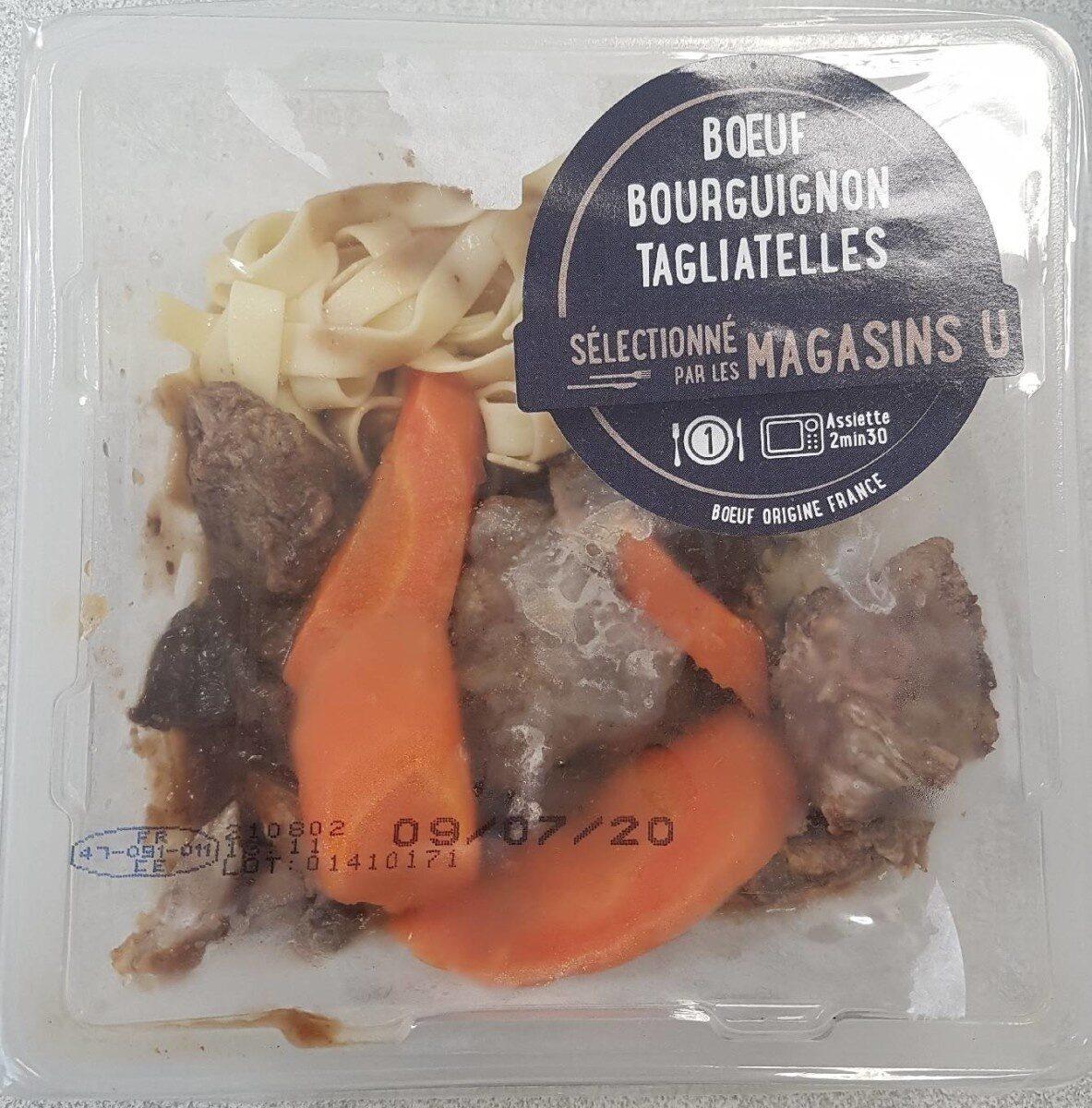 Boeuf Bourguignon Tagliatelles - Product - fr
