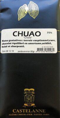 Chocolat 75% - Produit