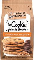 Cookie fin croust sarrasin chocolat noir 140g - Product - fr