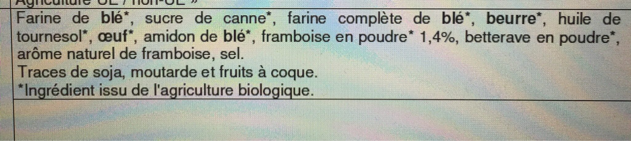 Essai framboise - Ingredients - fr