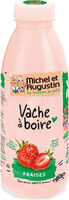 Vache à boire à la fraise 500mL - Product - fr