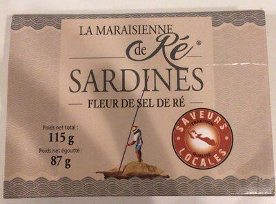 Sardines fleur de sel de Ré - Product - fr