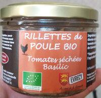 Rillettes de poule bio Tomate séchées Basilic - Product