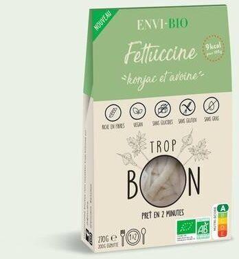 Fettuccine de konjac et fibre d'avoine - ENVI-BIO - Prodotto - fr