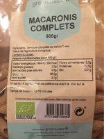 Macaroni complets - Produit - fr