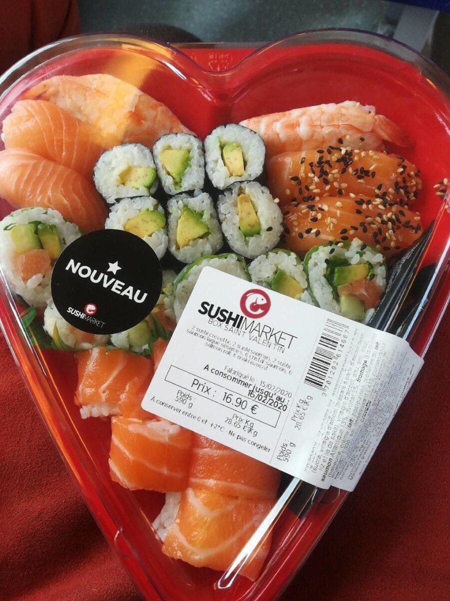 Sushi Box Saint Valentin - Produit - fr