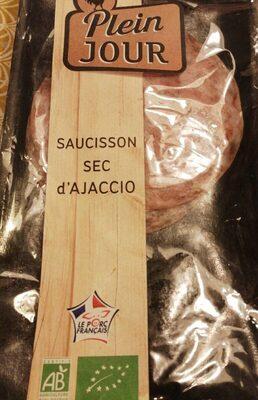 Saucisson sec d'ajaccio - Product - fr