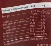 Boulettes d'énergie Cacao Cacahuètes BIO - Informazioni nutrizionali - fr