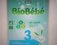 BioBébé 3 ans Goût Nature - Produit