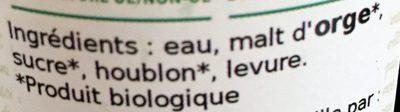 Philomène - Ingrediënten - fr
