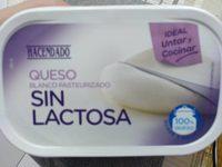 Queso sin lactosa - Produit - es