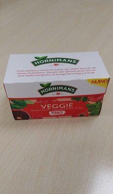 Hornimans VEGGIE Albahaca, Tomate, Frambuesa, Manzana, Té Rojo