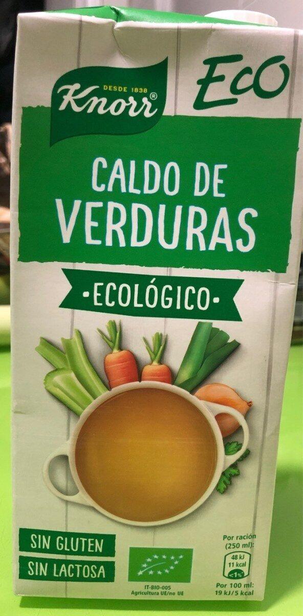 Caldo de verduras ecologico - Producto