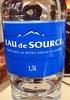 Eau de source Beaupré - Product