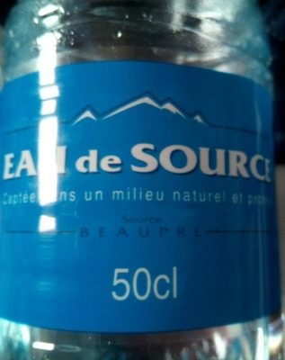 Eau de source - Product