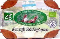Oeufs Biologiques - Produit - fr