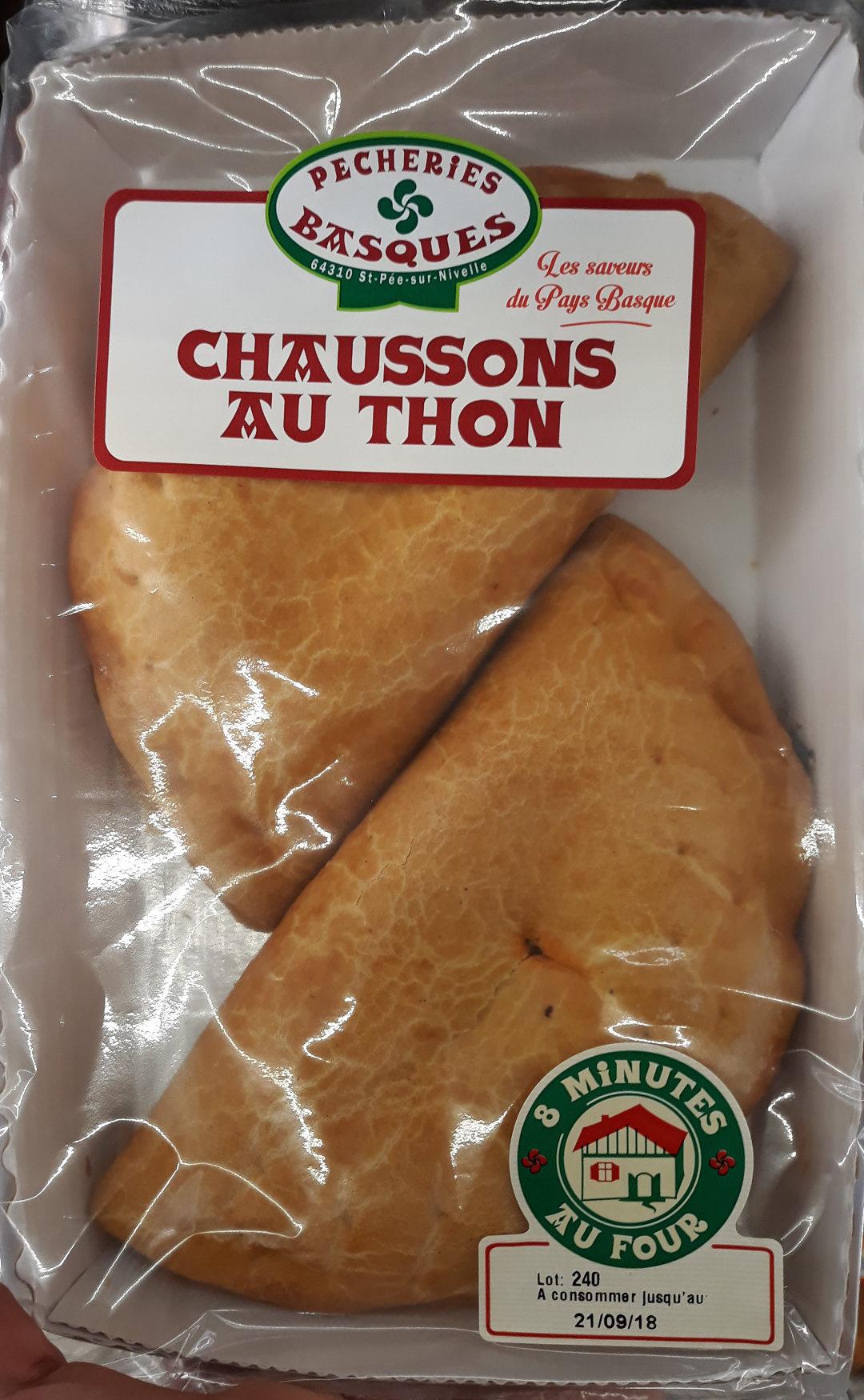 Chaussons au thon - Produit
