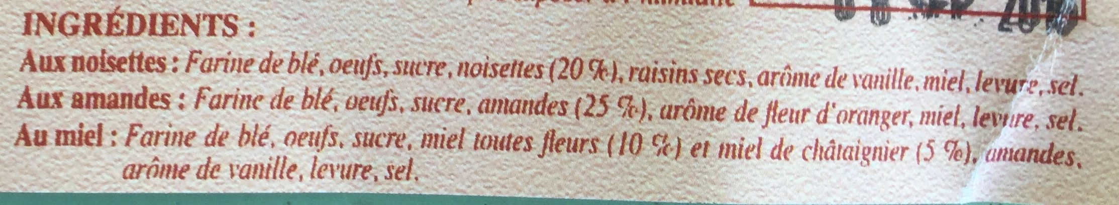 La croquette des Alpages - Ingredients - fr