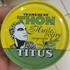 Tranche de Thon à l'Huile d'Olive - Produit