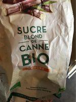 Sucre Blond de Canne Bio - Nutrition facts