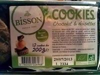 Cookies chocolat & noisettes - Product