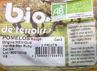 Pomelos - Ingredients - fr