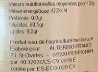 Miel de lavande - Ingrediënten - fr