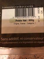 Futs de poireaux - Ingredients - fr