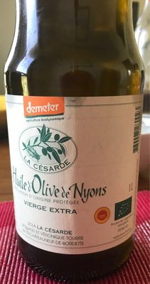 Huile d'olive de Nyons - Product